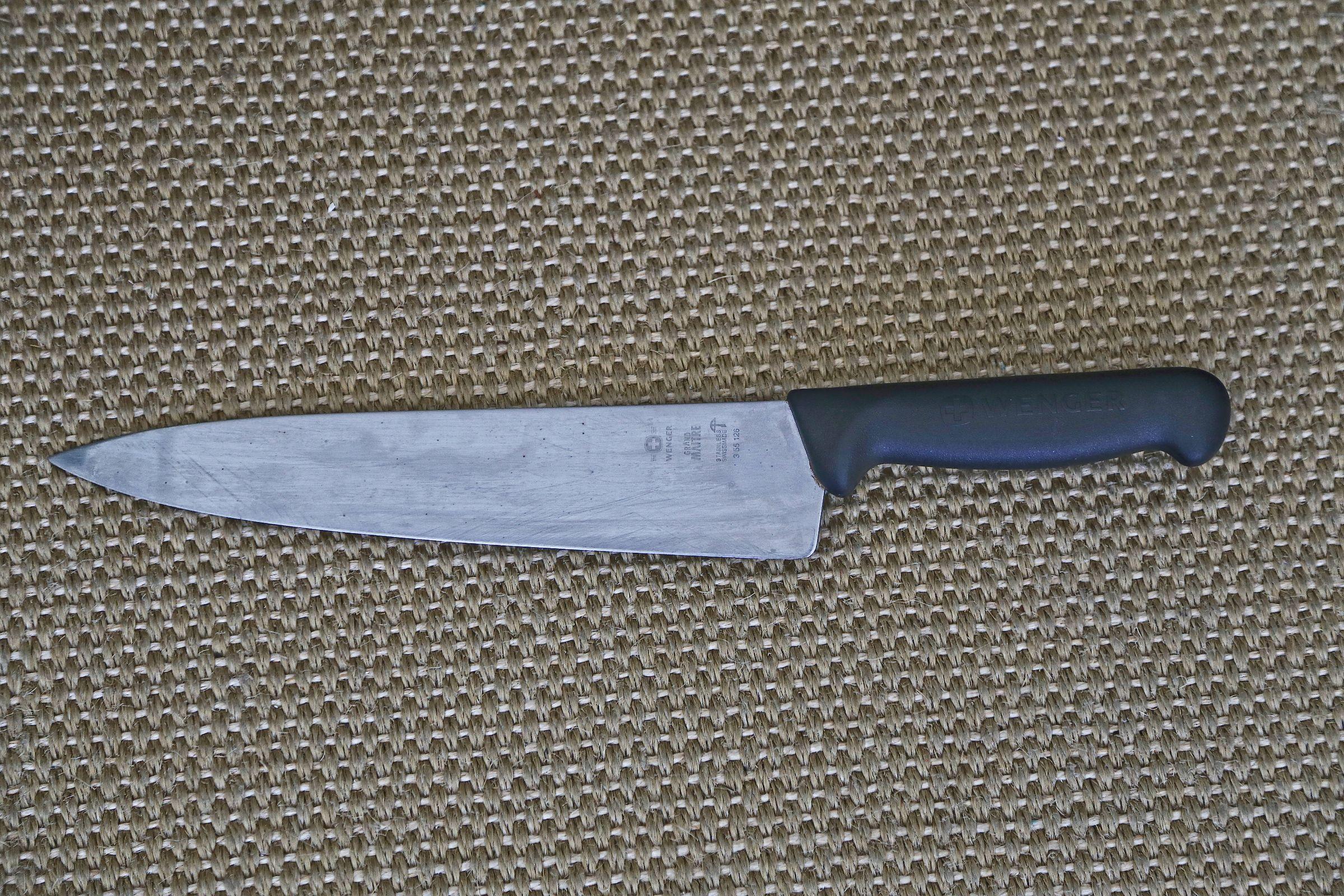 wenger grand maitre chef knife 250mm sharp knife