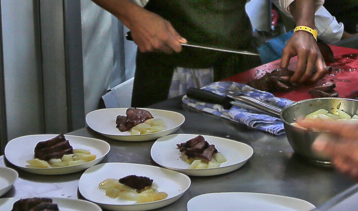 Carving Beef Roast