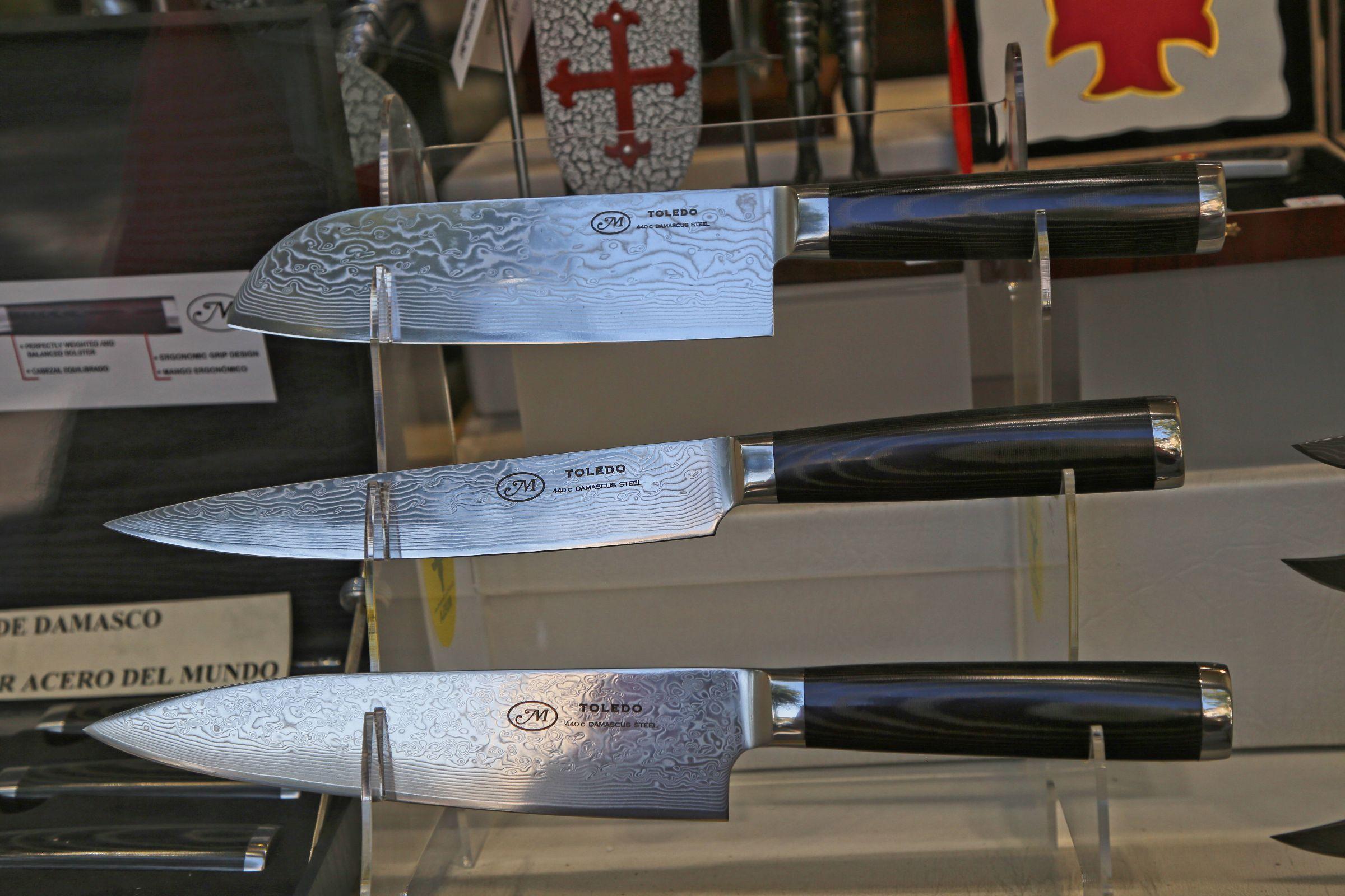 toledo kitchen knives sharp knife